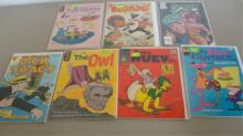 7 Misc Comics, Jetsons, Baby Huey, Dick Tracy