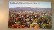 Autumn Top of Poet's Greenfield MA Post Cards