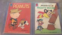 Peanuts & Mickey Mouse Comic Books