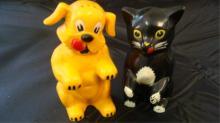 Ken-L-Ration Cat & Dog Salt & Pepper Shakers