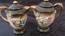 Coffee Pots Salt & Pepper Shakers 1940's Japan