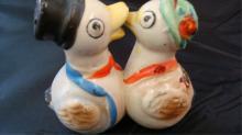 Duck Salt & Pepper Shaker Japan 1940's