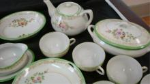 1930's Child's Tea Set Made in Japan 33 Pieces