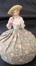 Porcelain Head Doll Door Stop
