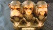 1960's 3 Monkies Bank