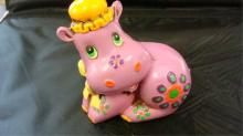 1960's Purple Hippo Bank