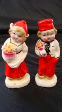 Dutch Boy & Girl Salt & Pepper Shakers Japan 1940s