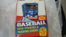 1986 FLEER Wax Packs Baseball