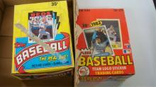 1986 TOPPS Wax Pack 1982 FLEER Wax Pack