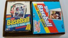 2 FLEER 1988 & 1992  Wax Packs Unopened