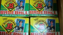 1989  Bowman Wax Packs 8 Unopened Packs