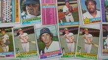 1976 TOPPS Baseball Cards (64) Sharp
