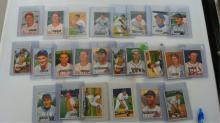 24 1950 BOWMAN Baseball Cards- Sharp