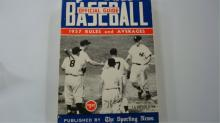1957 Baseball Official Guide NY Yankee Cover