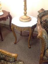 Solid Carved Maple Wood French Provincial 3 Piece Set of Tables