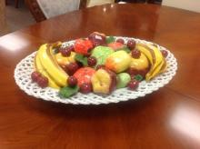 Capodimonte Fruit Platter