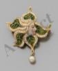 Ravissant pendentif Art Nouveau