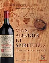 Ensemble de 11 bouteilles : 1 bouteille JURANCON Bi dou Rey, 1 bouteille NEGROAMARO Castel Monaci, 1 bouteille PECHARMANT Chateau de Biran, 2 bouteilles Clos Moléon 1995, 1 bouteille Clos Nicrosi 1998, 2 bouteilles Clos St-Hubert 1995, 1 bouteille
