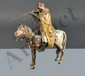 Attribué à alias NAM GREB 1861-1936 - Homme à cheval, tirant au fusil
