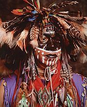 ANDRES SERRANO (Né en 1950)  AMERICAN INDIANS, JACK RAINMAKER, 1995