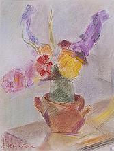 Emile Othon FRIESZ (1879-1949) Pot de fleurs