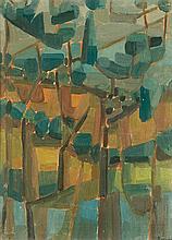 Evariste BOCCHI (1928-1966) Sous-bois
