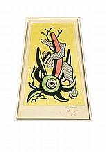 FERNAND LEGER (1881-1955) Composition
