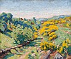 Armand GUILLAUMIN (1841-1927) Vue de Crozant au printemps