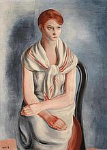 Moïse KISLING (1891-1953) Jeune Sanaryenne, 1926