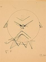 PAUL VERLAINE (1844-1896) Auto portrait
