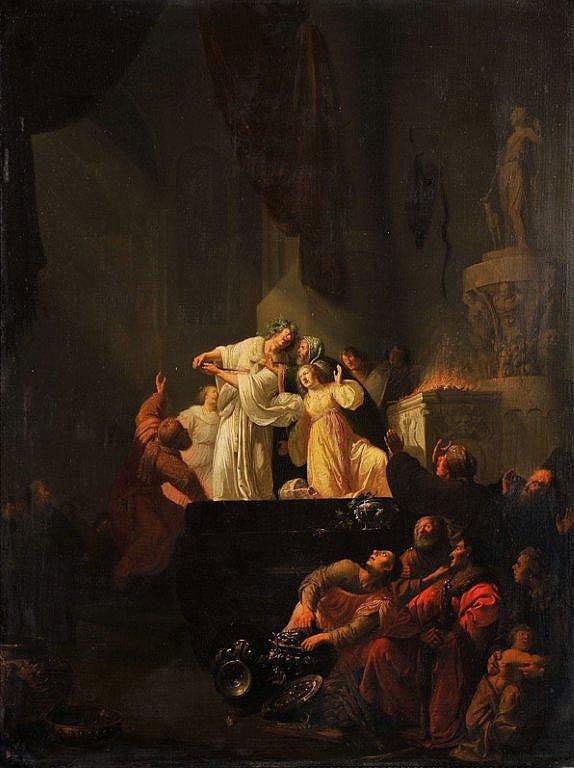 Willem de POORTER - Corésus et Callirhoé