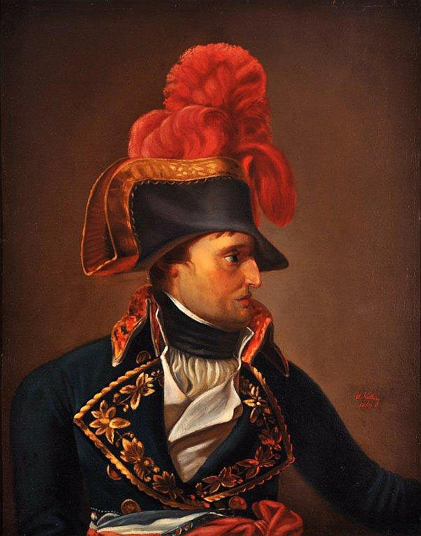 Ecole Française vers 1850 - Portrait de Napoléon