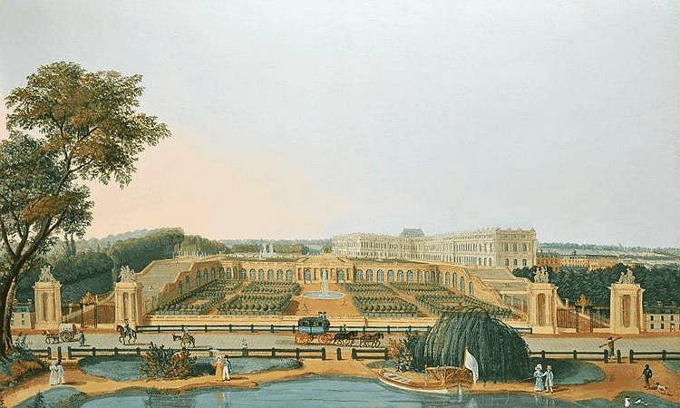 Ecole Française vers 1820 - Vue panoramique...