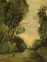 Paul-Désiré Trouillbert 1829 - 1900  École Française XIXe siècle  Huile sur panneau de bois  34 x 23 cm