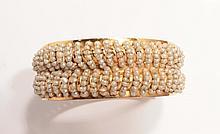 Bracelet double jonc