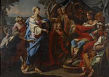 Andrea CASALI (Civita Vecchia 1705-1784) Clélia devant Porsenna