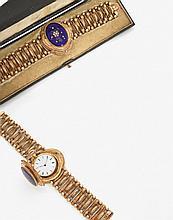 Rare et décorative montre-bracelet, convertible en