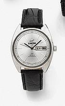 Originale montre-bracelet en acier pour homme,