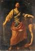 École italienne XVIIe siècle   «Samson et Dalila»   Huile sur toile   168 x 118 cm