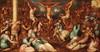 École Italienne, Circa 1600   La Passion du Christ   Huile sur toile   67 x 128 cm