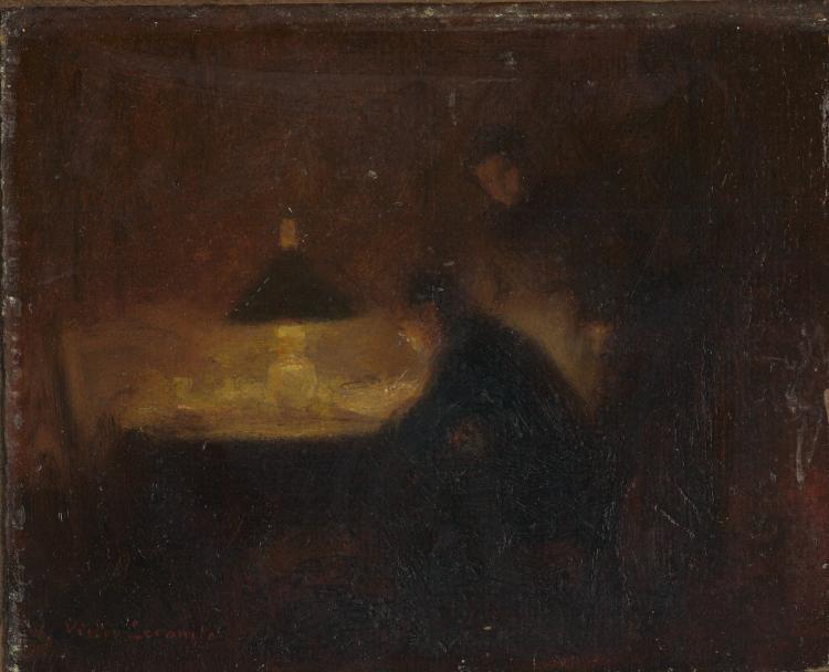 VICTOR LECOMTE(1856-1920)