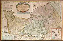 Carte de Hubert JAILLOT, Géographe du Roi, 1719