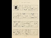 Benjamin RABIER (1864-1939) - Les trois défauts de Brif