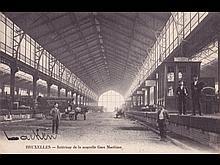 Belgique: toutes régions. Environ 240 cartes postales.