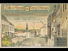 Ville du Rœulx 1909 Cercle St Nicolas.