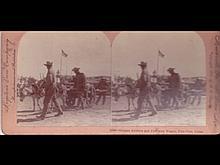 [Stéréoscopie Chine] German Soldiers and Provision Wago