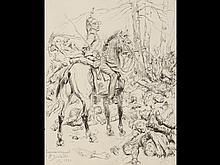 [Militaria] Édouard DETAILLE (1848 - 1912). - Cuirassie