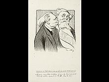 Lucien MÉTIVET (PARIS, 1863 - CA. 1930-32) - Belle réun