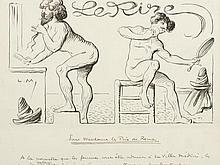Lucien MÉTIVET (PARIS, 1863 - CA. 1930-32) - Pour Mesda