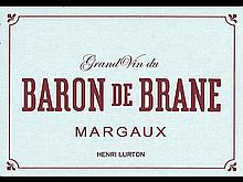 Baron de Brane 2010 Margaux (2cbx6)